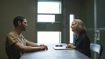 This image released by STXfilms shows Tahar Rahim, left, and Jodie Foster in The Mauritanian.(AP)