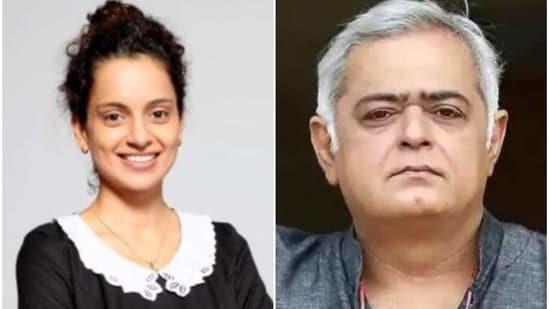 Kangana Ranaut and Hansal Mehta worked together in Simran.