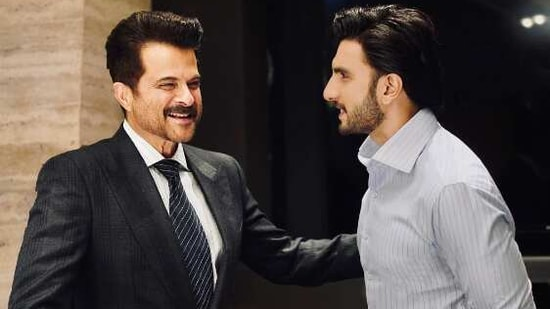 Ranveer Singh has penned a note of gratitude for one-of-a-kind Anil Kapoor.