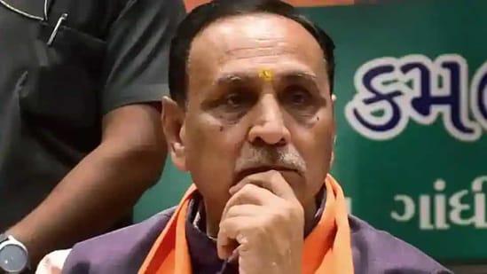 Gujarat Chief Minister Vijay Rupani.(PTI file)