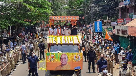 It is in this political landscape that the Bharatiya Janata Party (BJP) has emerged as a significant force over the last decade (PTI)