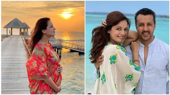 Dia Mirza expecting first child with husband Vaibhav Rekhi: 'Blessed to  cradle this purest of all dreams in my womb' | Hindustan Times