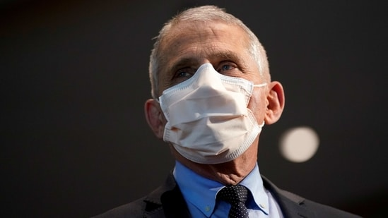 Dr. Anthony Fauci, director of the National Institute of Allergy and Infectious Diseases.(Reuters)