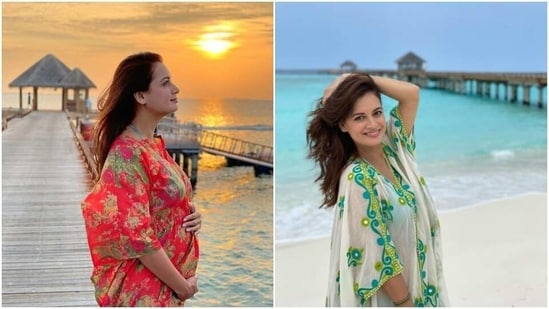 Dia Mirza is the original queen of kaftans and flowy silhouettes(Instagram/diamirzaofficial)