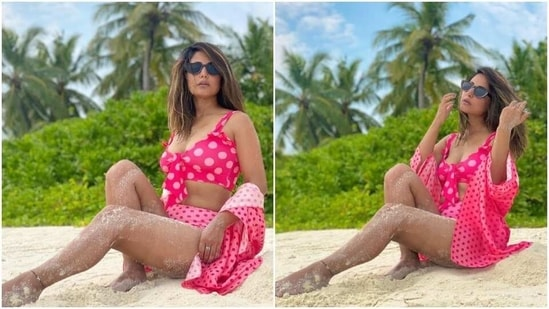 Hina Khan in Maldives(Instagram/ realhinakhan )