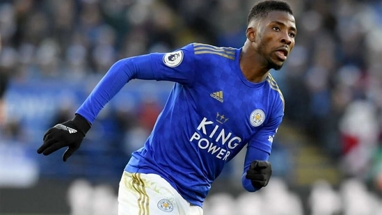 Kelechi Iheanacho of Leicester in action. (Getty Images)