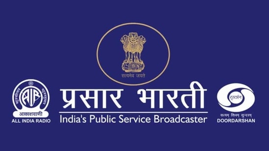The present process for change was initiated in 2018, when Prasar Bharati began a manpower audit.(Twitter)