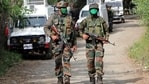 An encounter broke out in Jammu and Kashmir's Shopian district on Saturday.(ANI)