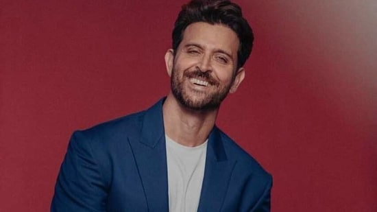 Hrithik Roshan took to Instagram and revealed he couldn't easily laugh onscreen.
