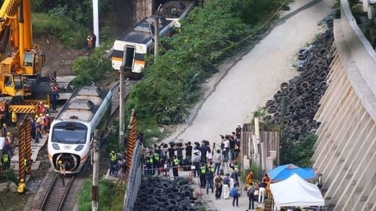 The possibility that the brake had a mechanical failure is also being investigated, the Taiwan Railways Administration said in a statement on Saturday.(REUTERS)