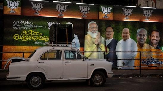 Modi has also addressed three rallies in Kerala till Saturday.(AP)