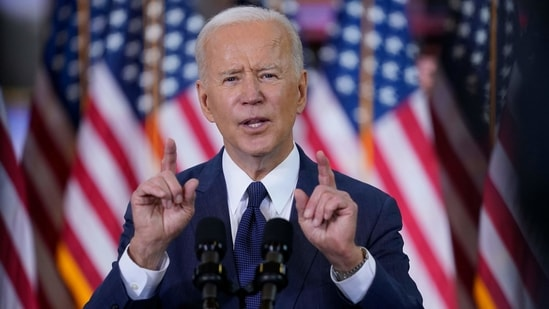 US President Joe Biden.(AP File Photo )