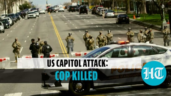 Police officer killed in vehicle attack on US Capitol, suspect shot dead