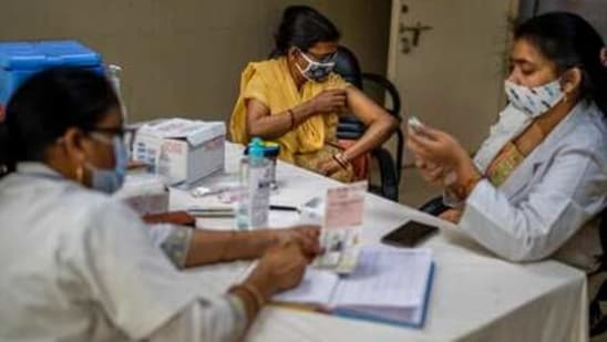 A mathematical approach, named SUTRA, had predicted that the initial spike of the coronavirus infection in August would rise by September and decrease in February this year.(AP)
