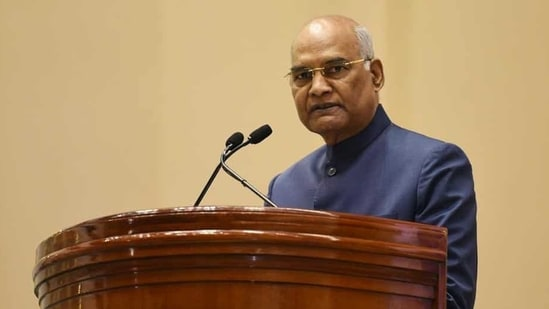 President Kovind underwent a health check-up at the Indian Army's R&R Hospital last Friday after he complained of discomfort in his chest. (Vipin Kumar/HT Photo)