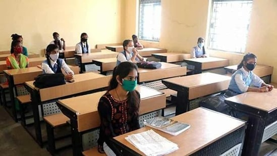 The Karnataka government on Friday said that classes from 6-9 will be suspended to contain Covid-19 spread.(ANI file photo)