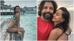 Shibani Dandekar is missing her beach holiday with Farhan Akhtar.