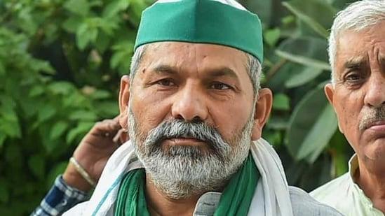 Bharatiya Kisan Union (BKU) spokesperson Rakesh Tikait. (File photo)