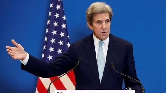 US Special Presidential Envoy for Climate John Kerry .(REUTERS)
