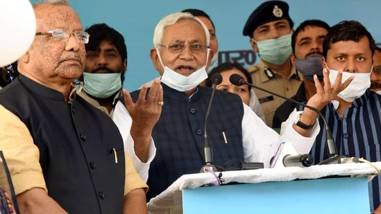 Bihar CM Nitish Kumar said that officials have been sent to Nawada to probe the exact cause of deaths of eight people after reports surfaced of them dying due to consumption of spurious alcohol during Holi. (Santosh Kumar /Hindustan Times)