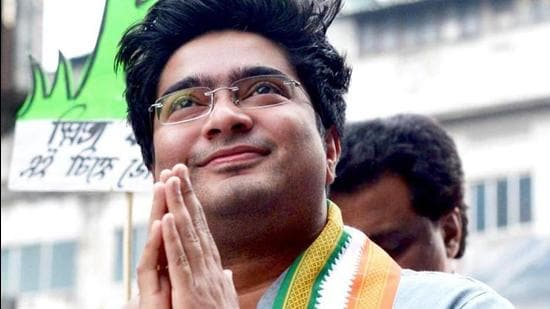 Mamata Banerjee's nephew and national president of All India Trinamool Youth Congress Abhishek Banerjee. (File photo)