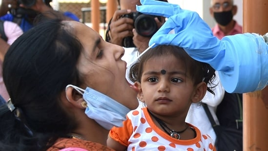 India, the third-worst country hit by the pandemic, on Saturday reported 89,129 Covid-19 cases in a day, the highest daily rise in around six-and-half-months. (PTI Photo)