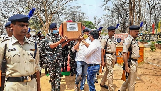 The gunfight also resulted in the death of a suspected Maoist, the police said, adding that about a dozen others were likely killed in the encounter.(PTI)