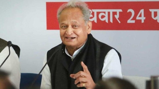 Rajasthan chief minister Ashok Gehlot said farmers can increase their income by selling solar power to the government by installing solar panels on their vacant land. (File Photo)