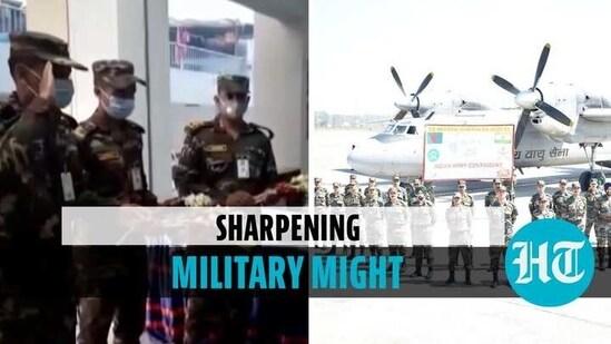 Indian Army contingent part of Shantir Ogroshena 2021 (Agencies)