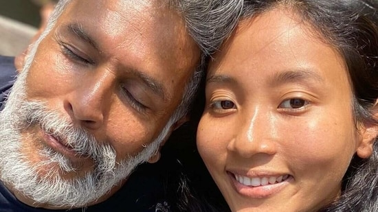 Milind Soman recovers from Covid-19 and shares a picture with Ankita Konwar.