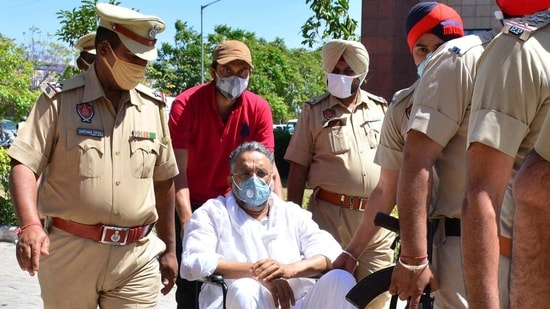 Gangster-turned-politician Mukhtar Ansari(Ht photo)