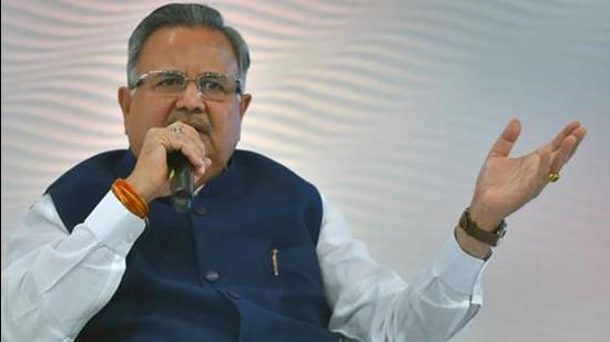 Raman Singh claimed Chhattisgarh CM Bhupesh Baghel treated elections as his first priority. PTI Photo