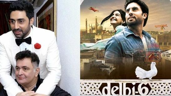 Abhishek Bachchan and Rishi Kapoor starred in Delhi 6 together.