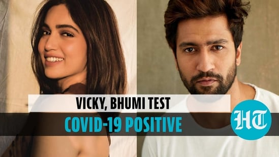 Actors Vicky Kaushal and Bhumi Pednekar test positive for Covid-19