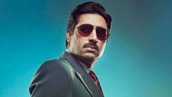 Abhishek Bachchan plays Hemant Shah, a character based on Harshad Mehta, in The Big Bull.
