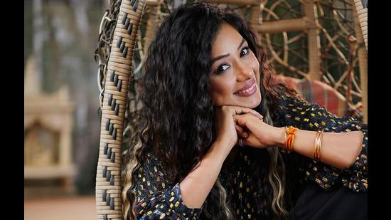 Actor Rupali Ganguly, who recently tested Covid positive, will celebrate her birthday on a zoom call with hubby and son.