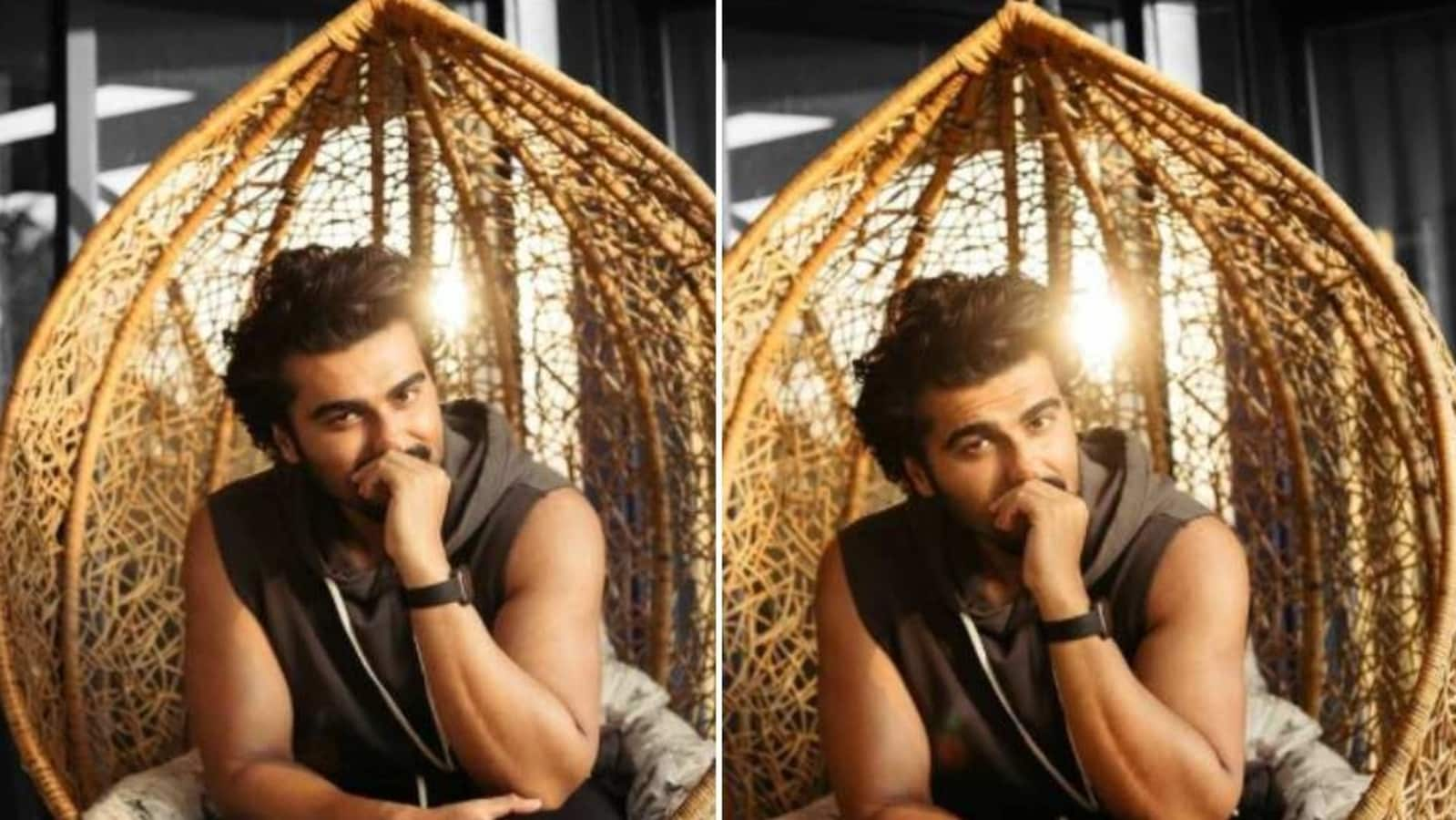 Arjun Kapoor asks fans to notice the difference between two of his photos, Janhvi Kapoor has a perfect answer.  See here
