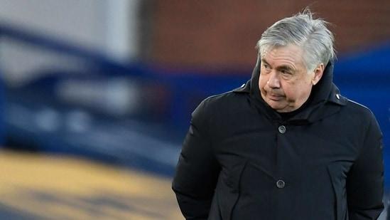 Everton manager Carlo Ancelotti(Pool via REUTERS)