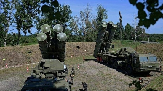 Russian S-400 missile air defence systems. (Representational image/Reuters File)