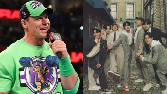John Cena is a BTS fan.