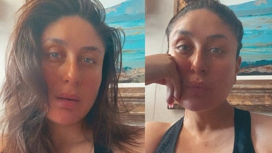 Kareena Kapoor shares a pre-workout photo on Tuesday.