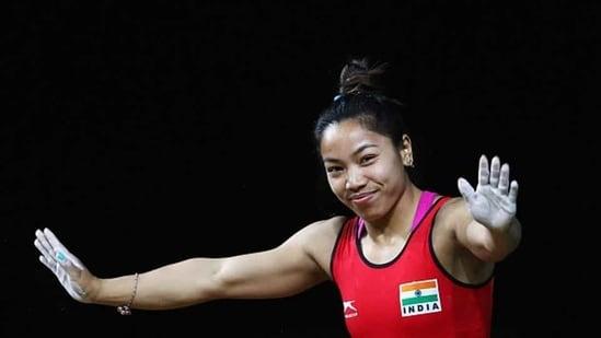 File image of Mirabai Chanu.(Getty Images)