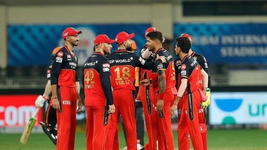 File image of RCB cricketers.(IPL/Twitter)