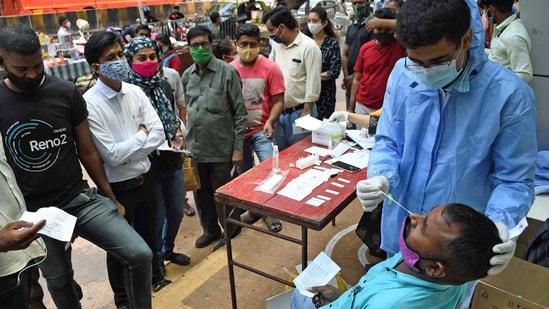 Gujarat on Monday recorded over 3,000 fresh cases of coronavirus.(File Photo)