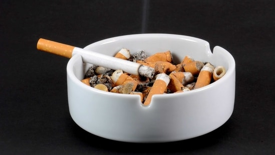 The Union health ministry also last year in a report pointed out that smokers were more likely to be vulnerable to Covid-19 as smoking increases the chances of transmission of virus from hand to mouth.(iStock/HT Archive)