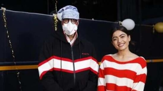 Rashmika Mandanna mentioned how she removed her mask only for the pictures.