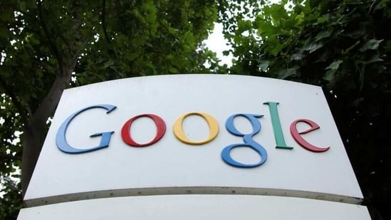 The Google Inc. logo is seen outside their headquarters in Mountain View, California.(Reuters)
