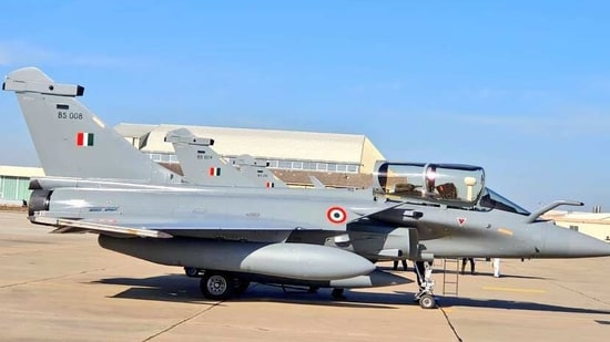 "Sherpa reported, citing media revelations, about ""suspected corruption, including money laundering, influence peddling and favouritism"" surrounding the sale of Rafale jets to India.(ANI Photo)"