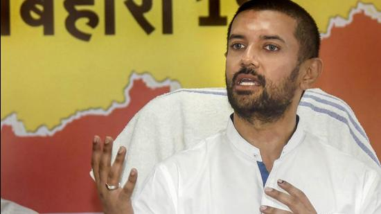 Patna: LJP chief chirag Paswan presided over the most disastrous election for the party in 2020. (PTI)
