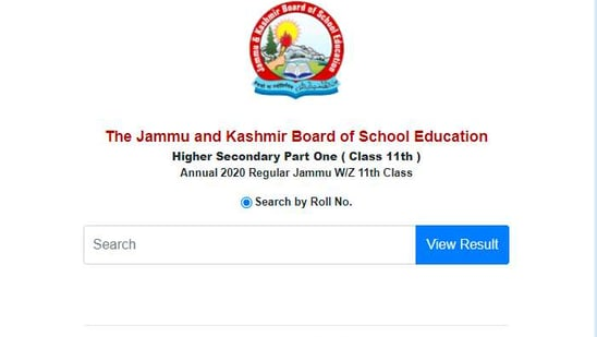 JKBOSE class 11 result 2020: Those who have appeared in the JKBOSE annual 2020 Regular Jammu W/Z 11th Class exam can check their result online at jkbose.ac.in.(jkbose.ac.in)
